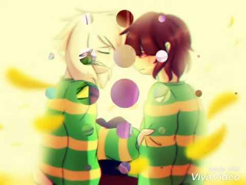 Chara X Asriel AMV(Music Video)Love Me Like You Do (Ellie Goulding)