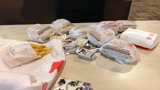 16 year old Girl takes on entire Burger King Value Menu!!!
