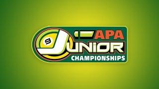 Junior National Championships - Green Tier Finals - Pool Tournament - APA