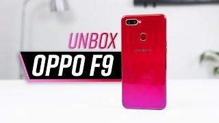 Mở hộp OPPO F9 rẻ hơn OPPO F7 mà lại xịn hơn!!