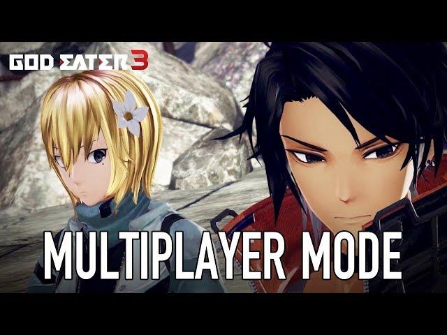 God Eater 3 - PS4/PC - Multiplayer Mode Trailer