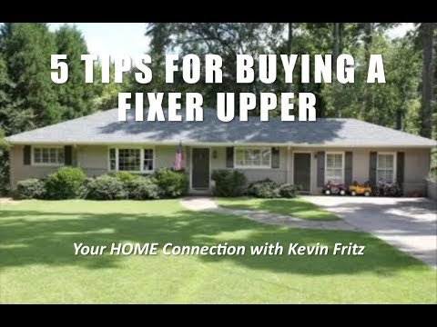 Here are 5 Tips for Buying a Fixer Upper