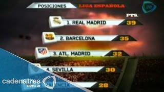 Así marcha la clasificación de la Liga española tras 15 jornadas