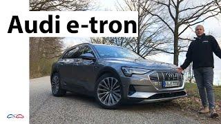 Audi e-tron 55 quattro (265 kW/360 PS) 2019 Test - Schafft der elektrische SUV eine große Tour?