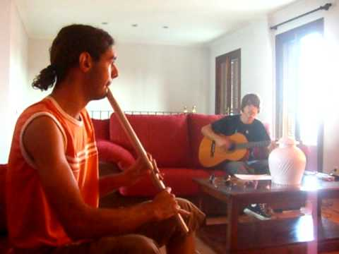 Jam session (low whistle & guitar)