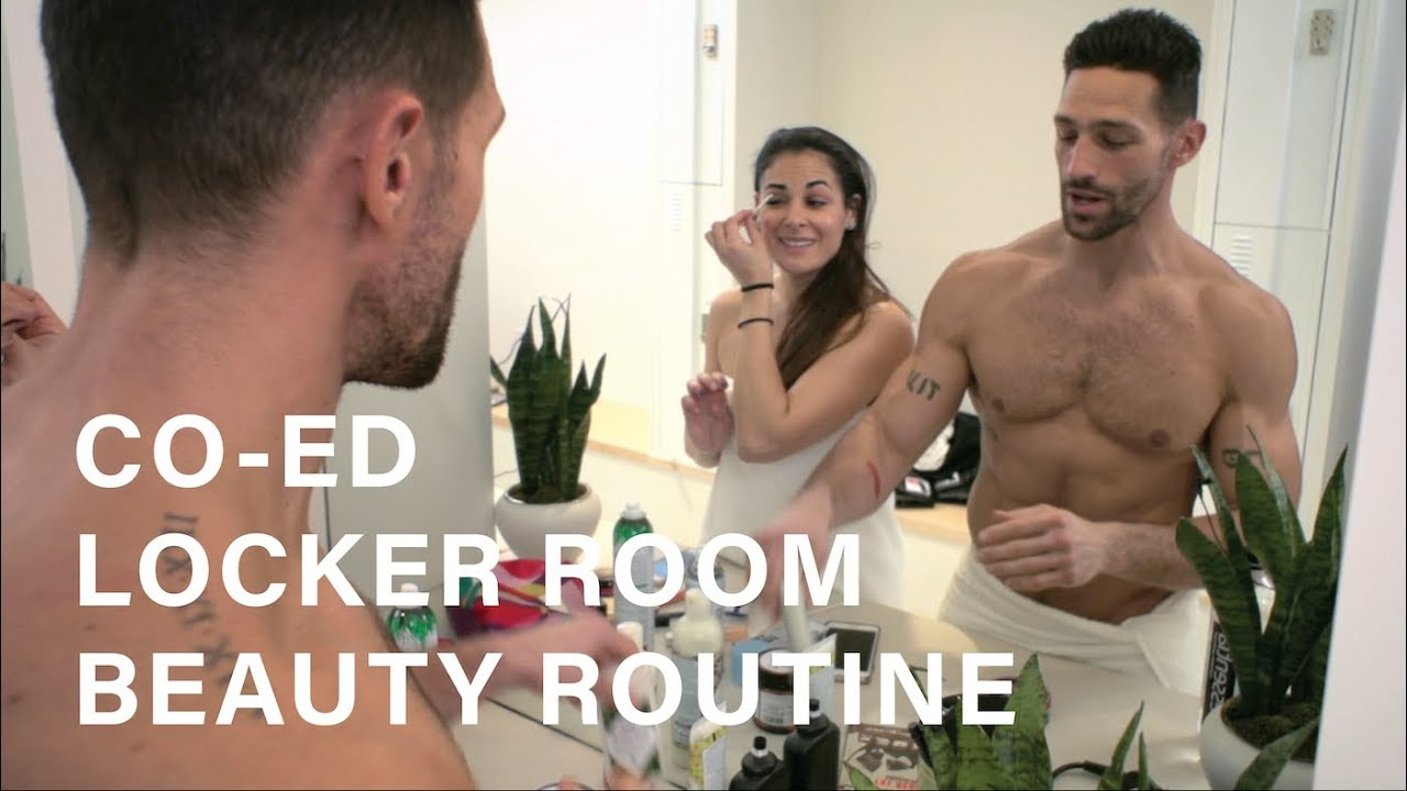Coed naked men women changing rooms
