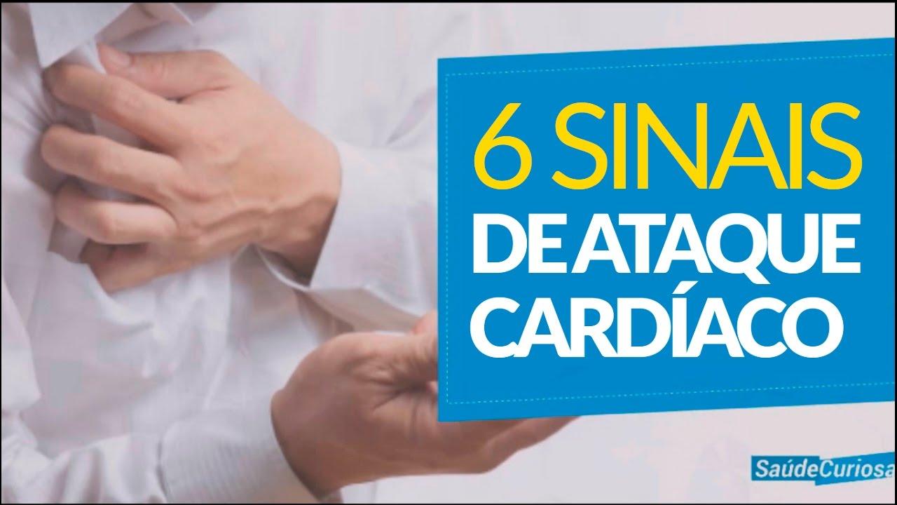 6 Sinais de Ataque Cardíaco que podem salvar sua vida!