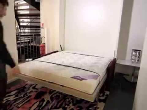 armoire lit escamotable penelope sofa bimodal par la maison du convertible youtube. Black Bedroom Furniture Sets. Home Design Ideas