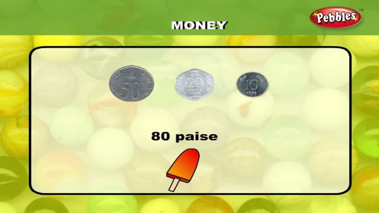 Maths For Class 1 : Learn about Money   Learn Maths For Children ...