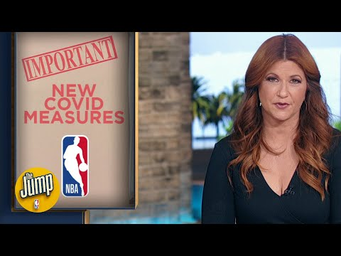 The NBA introduces new COVID-19 protocols | The Jump
