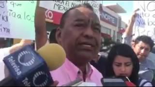 Se manifiestan en Coatzacoalcos por aumento a la gasolina