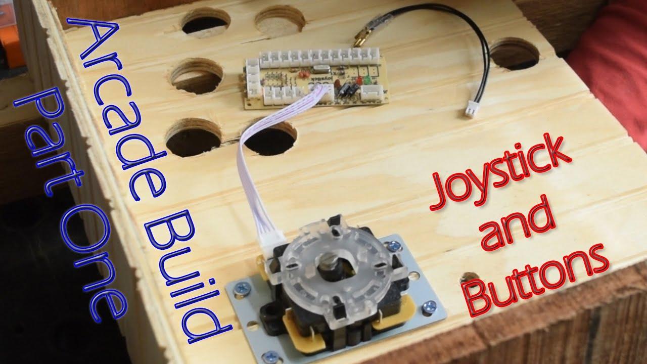 Bartop Arcade Build - Part 1 - Joystick and Buttons - YouTube