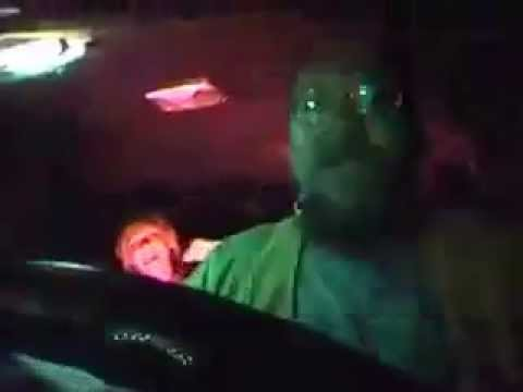 Doughmaster The Bird music video, rapping cab driver