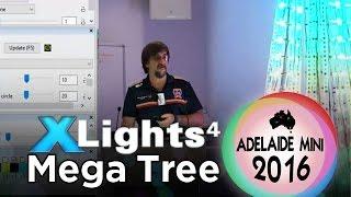 adelaide mini 2016 xlights 4 mega tree