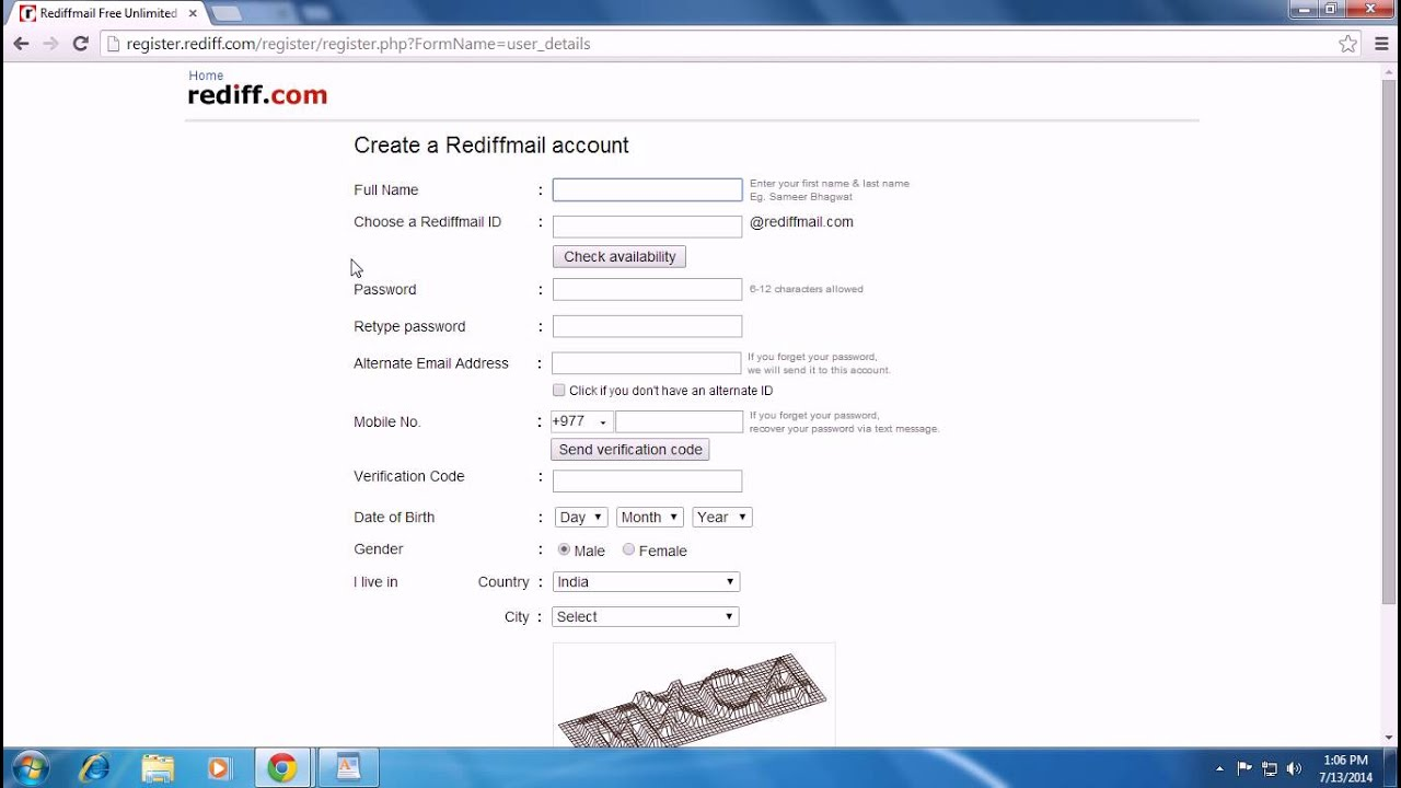 how to send mail in rediffmail