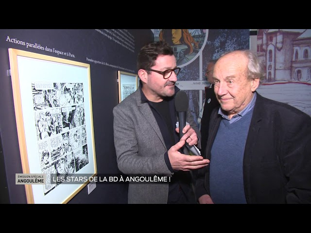 Angoulême - Les stars de la BD à Angoulême 2020