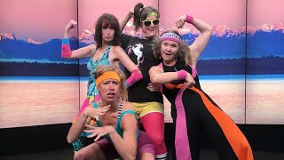 Dorky Dance Fitness is a workout for your funny bone - New Day Northwest