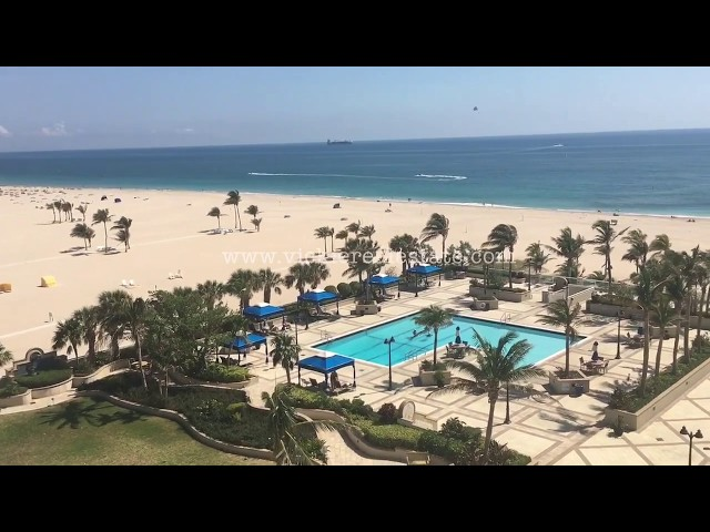 Point of Americas Condo in Ft. Lauderdale Video