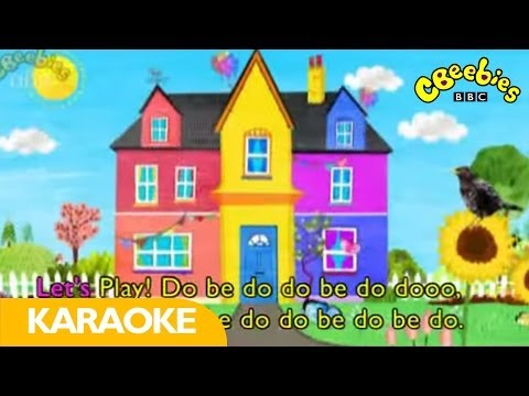 CBeebies: Let's Play - Karaoke Theme Song