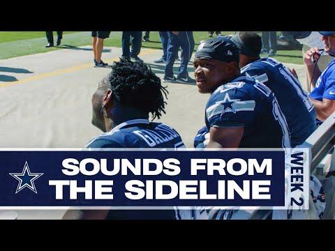 Lynn Hernandez - #DallasCowboys v #WashingtonRedskins sounds from the sidelines.