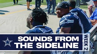 Sounds From The Sideline: Week 2 Cowboys vs Redskins | Dallas Cowboys 2019