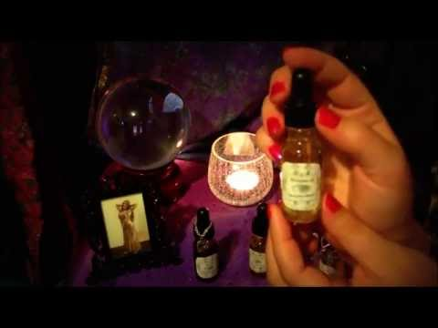 ASMR Dream Induction * Witch Apothecary Magickal Uses of Essentail Oils and Herbs