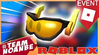 Como conseguir gafas lentes (Overdrive Goggles) Evento Action Roblox Heroes of Robloxia