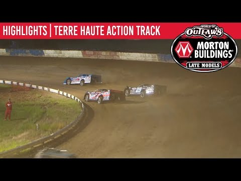 World of Outlaws Morton Buildings Late Models Terre Haute Action Track June 28, 2019 | HIGHLIGHTS