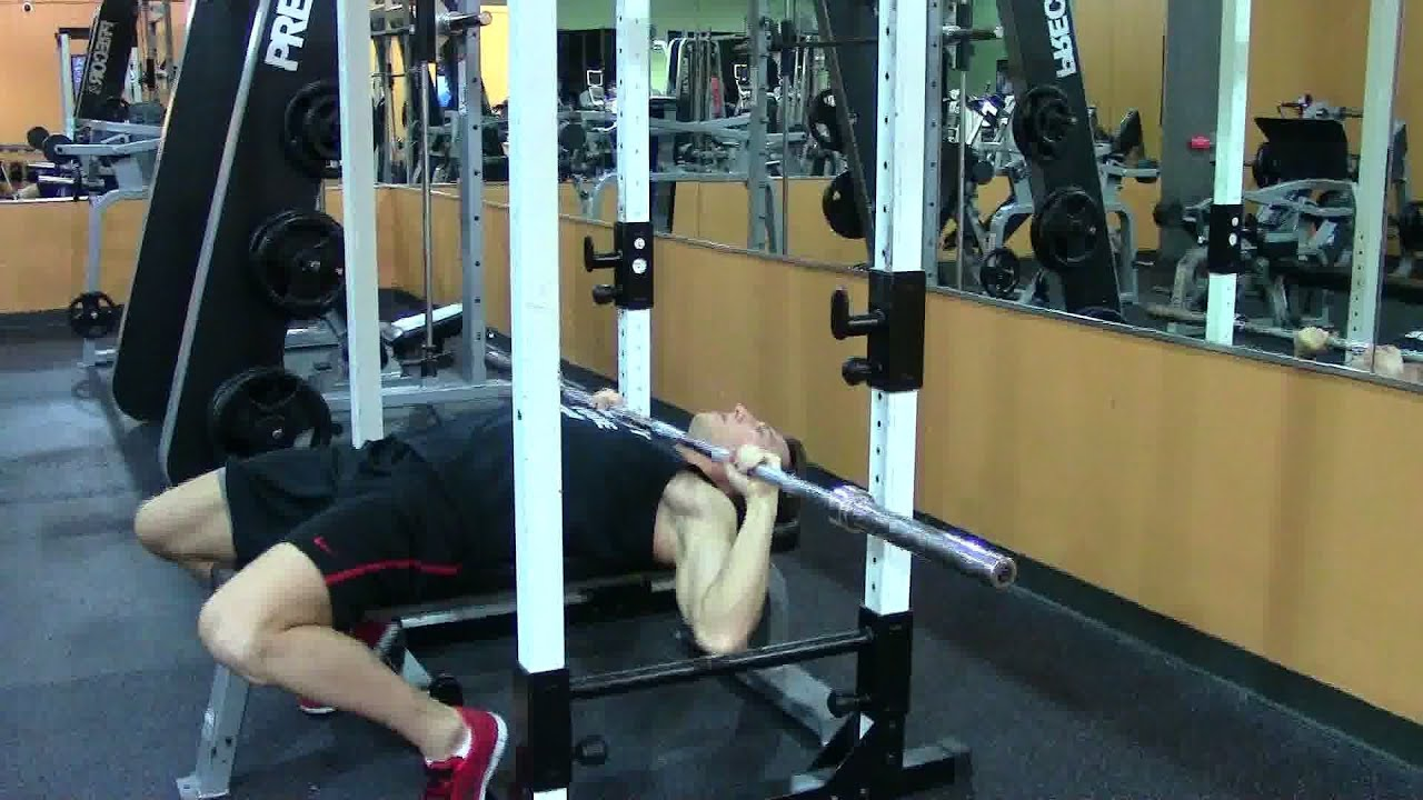Delightful Guillotine Bench Press Part - 6: High Neck Press - HASfit Upper Chest Exercise Demonstration - Guillotine  Pectoral Exercises - YouTube