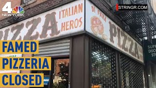 Di Fara Pizza, Often Ranked As NYC's Best Pizzeria, Closed for Not Paying Taxes | NBC New York