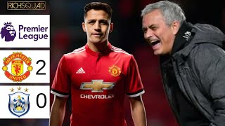 Alexis Scores His Fist Manchester United Goal | Huddersfield Relegated?EPL Match Day 26 Results