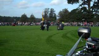 RBLR Display Team at Highclere Castle