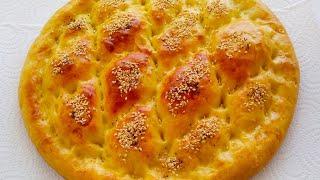Турецкий Хлеб Рамазан Пиде Домашняя выпечка Рецепты ASMR