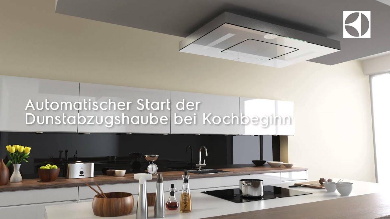 hob2hood deckenlüfter - youtube - Deckenlüfter Küche Umluft
