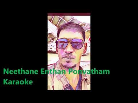 Neethane Enthan Ponvasantham Karaoke