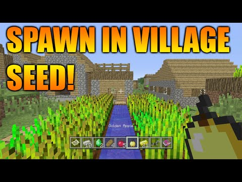 minecraft xbox seeds with villages at spawn