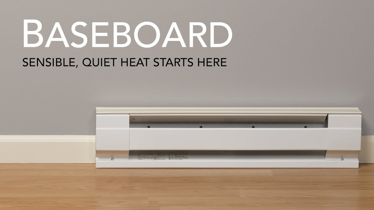 Cadet electric baseboard heater | Cadet Heat - YouTube