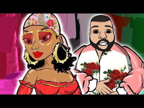 DJ Khaled Ft. Rihanna - Wild Thoughts (CARTOON)