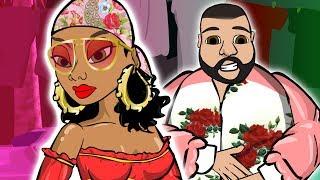 DJ Khaled ft. Rihanna - Pensées Sauvages (dessin animé)