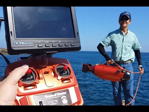 TTRobotix Seawolf Submarine ROV | takes your GoPro on an undersea voyage to find Pokemon