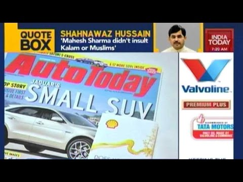 India Today Launches 'Auto Today' Magazine