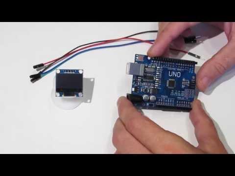 Подключаем дисплей OLED LCD 128x64 0.96'' к Arduino и выводим русский шрифт