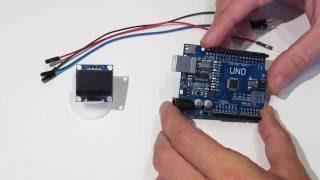 Подключаем дисплей OLED LCD 128x64 0.96