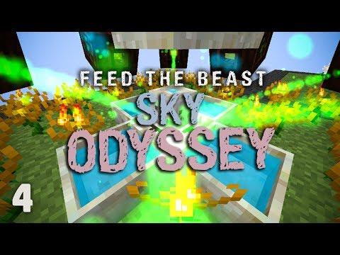 FTB Sky Odyssey Ep. 4 Easy Botania Mana Automation
