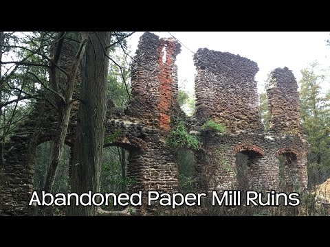 Abandoned 1700 S Paper Mill Amp Ghost Town Nj Pine Barrens