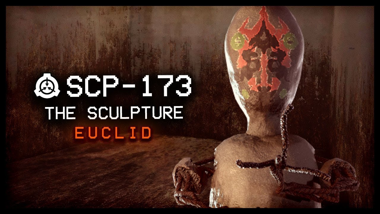 SCP-173 : The Sculpture : Euclid : Observational SCP : Feat  SCP Unity