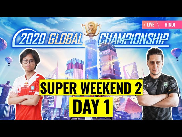 [Hindi] PMGC 2020 League SW2D1 | Qualcomm | PUBG MOBILE Global Championship | Super Weekend 2 Day 1