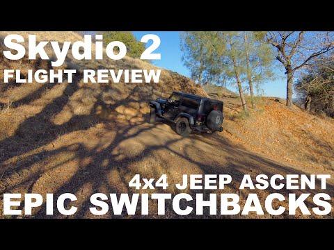 Skydio 2: Astounding! - Epic Switchbacks - 4x4 Jeep Acscent (4K)
