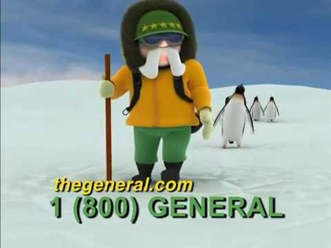 The General Meets The Penguin