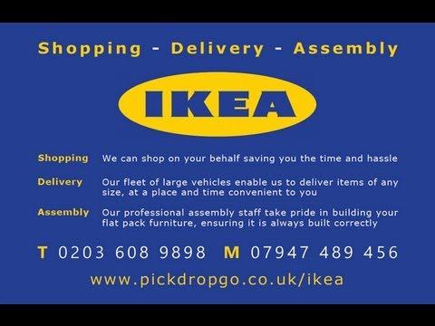 ikea billy bookcase assembly instructions pickdropgo - youtube,